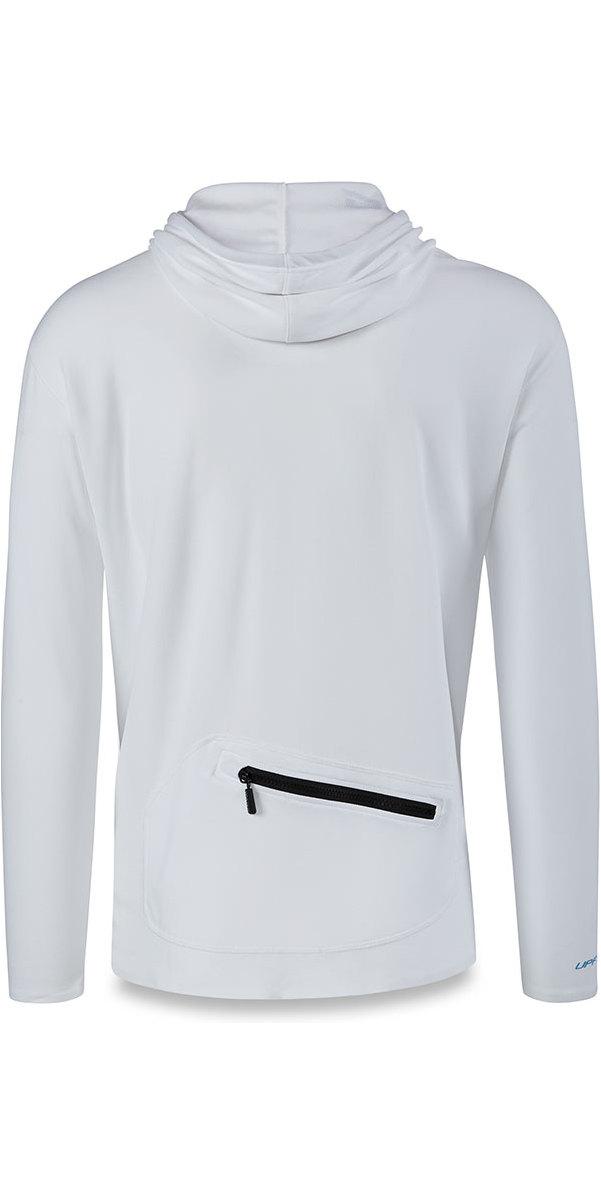 2018 Dakine Inlet Loose Fit Front Zip Hoody White 10001657