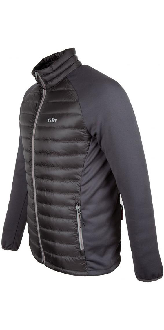 2019 Gill Mens Hybrid Down Jacket Charcoal 1064