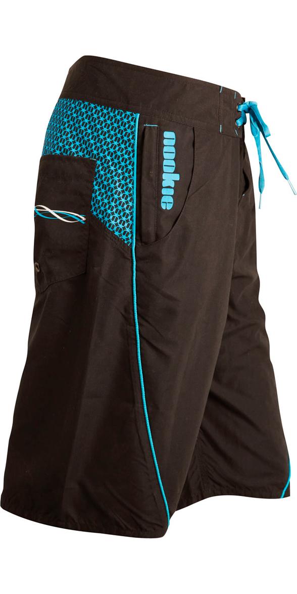 2019 Nookie Boardies Boardshorts BLACK / BLUE SW010
