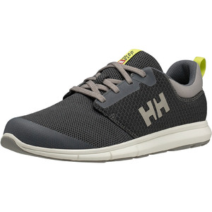 2021 Helly Hansen Feathering Sailing Shoes 11572 - Charcoal / Ebony