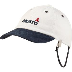 2020 Musto Evo Original Crew Cap Antique Sail White AE0191