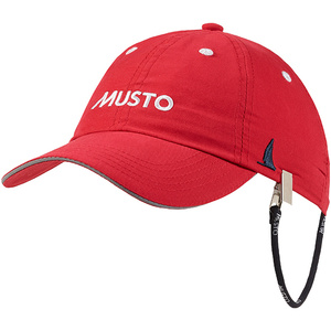2020 Musto Fast Dry Crew Cap in RED AL1390