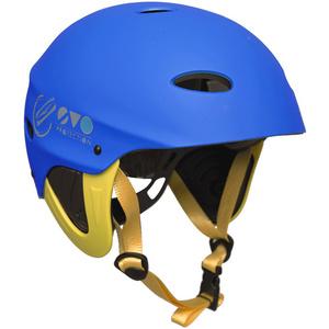 2019 Gul Evo Watersports Helmet BLUE / FLURO YELLOW AC0104-B3