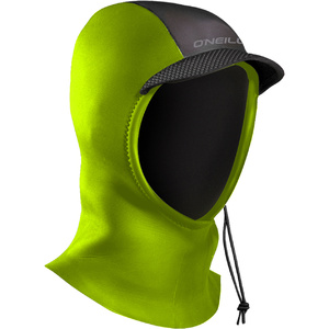 2019 O'Neill Youth Psycho 3mm Hood Dayglo Green 5120
