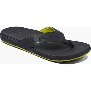 2019 Reef Mens Cushion Bounce Phantom Sandals / Flip Flops Grey / Green RF0A3FDI
