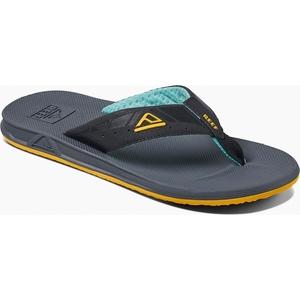 2019 Reef Mens Phantoms Sandals / Flip Flops Aqua / Yellow RF002046