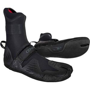 2021 O'Neill Psycho Tech 5mm Split Toe Neoprene Boots Black 5376