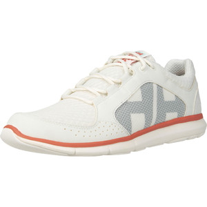 2021 Helly Hansen Womens Ahiga V4 Hydropower Sailing Shoes 11583 - Off White / Shell Pink