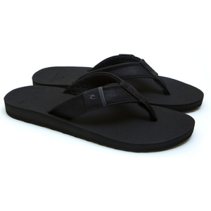 2020 Rip Curl Mens P-Low 2 Flip Flops TCTG33 - Black / Grey