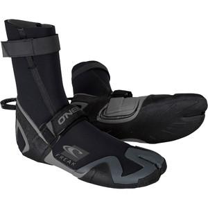 2020 O'Neill Psycho Freak 6mm Split Toe Boots Black / Charcoal 5010