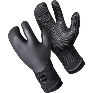 O'Neill Psycho 5mm Double Lined Neoprene Lobster Gloves Black 5108