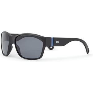 2021 Gill Junior Longrock Sunglasses Black / Smoke 9671