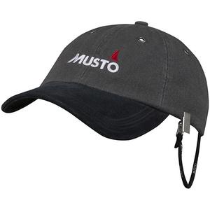 2020 Musto Evo Original Crew Cap Dark Grey AE0191