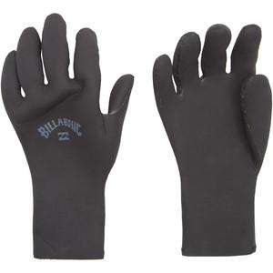 2021 Billabong Absolute 3mm Wetsuit Gloves Z4GL11 - Black