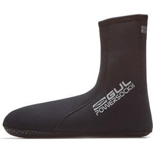 2021 GUL 4mm Power Sock BO1270-B8 - Black
