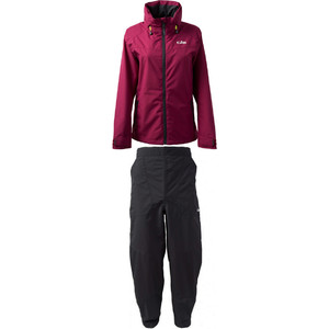 2020 Gill Womens Pilot Jacket IN81JW & Trouser IN81T Combi Set Berry / Graphite