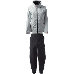 2021 Gill Womens Pilot Jacket IN81JW & Trouser IN81T Combi Set Silver / Graphite