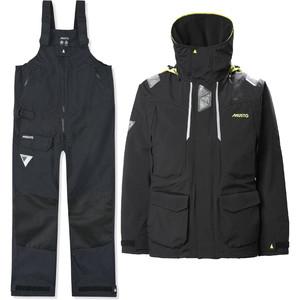 2021 Musto Mens BR2 Offshore Jacket & Trouser Combi Set - Black