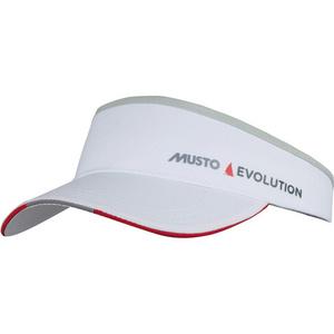 2020 Musto Evolution Race Visor White AS0790
