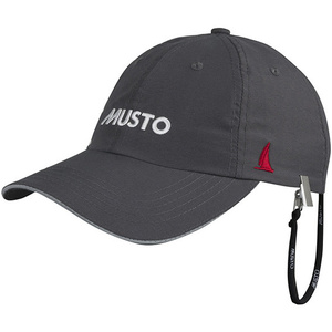2020 Musto Fast Dry Crew Cap Charcoal AL1390