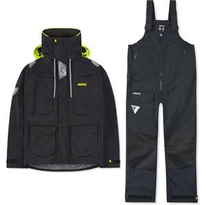 2020 Musto Mens BR2 Offshore Jacket & Trouser Combi Set - Black