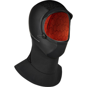 2019 Mystic Supreme 3mm Neoprene Hood 200029 - Black
