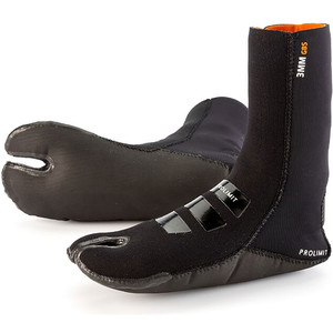 2020 Prolimit Evo 3mm GBS Split Toe Boot Sock Black 00340