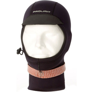 2020 Prolimit Neoprene Hood Xtreme with Visor Black 10130