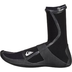 2020 Quiksilver Highline Lite 3mm Split Toe Boots Black EQYWW03036