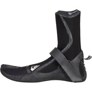2020 Quiksilver Highline Plus 3mm Split Toe Boots Black EQYWW03037