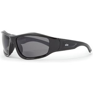 2020 Gill Race Vision Bi-focal Sunglasses Black / Smoke RS28