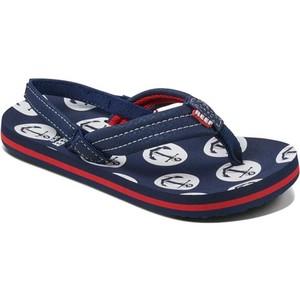 2019 Reef Kids Little Ahi Sandals / Flip Flops Anchors RF002345