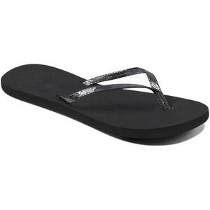 2019 Reef Womens Bliss Sandals / Flip Flops Nights Black RF0A2U1J