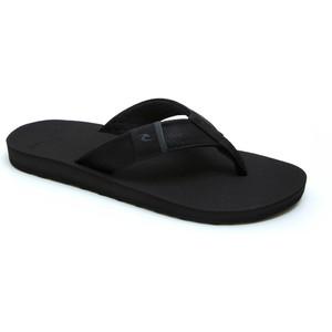 2021 Rip Curl Mens P-Low 2 Flip Flops TCTG33 - Black / Grey