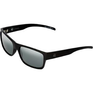 2021 US The Argos Sunglasses 823 - Gloss Black / Grey Silver Chrome Lenses