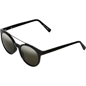 2021 US The Calix Sunglasses 829 - Gloss Black / Vintage Grey Polarised Lenses