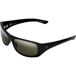 2021 US The Carbo Sunglasses 936 - Gloss Black / Vintage Grey Polarised Lenses