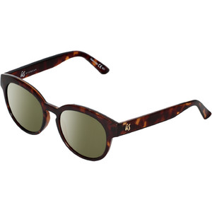 2021 US The Nathi Sunglasses 2604 - Gloss Tortoise Shell / Grey Gold Chrome Lenses