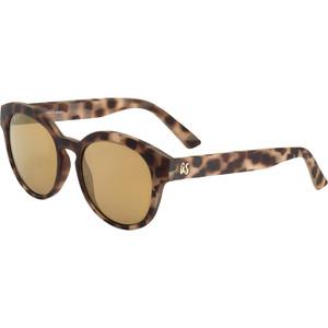 2021 US The Nathi Sunglasses 2604 - Matte Tortoise Shell / Grey Gold Chrome Lenses