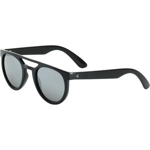 2021 US The Neos Sunglasses 834 - Gloss Black / Grey Silver Chrome Lenses