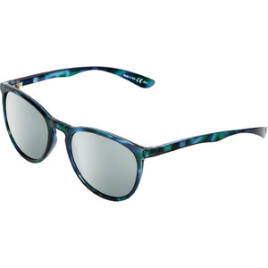 2021 US The Nobis Sunglasses 2472 - Gloss Blue Tortoise Shell / Grey Silver Chrome Lenses
