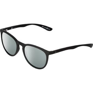 2021 US The Nobis Sunglasses 2472 - Matte Black / Vintage Grey Silver Chrome Lenses