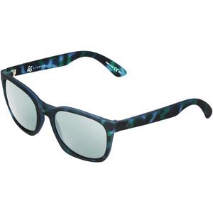 2021 Us Barys Sunglasses 820 - Blue Tortoise / Grey Silver Chrome
