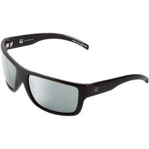 2021 Us Tatou Sunglasses 836 - Gloss Black / Grey Silver Chrome