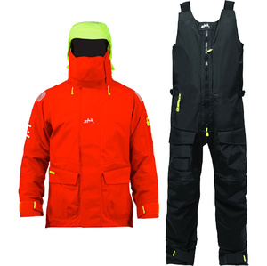 Zhik Mens Isotak 2 Jacket & Salopette Combi Set
