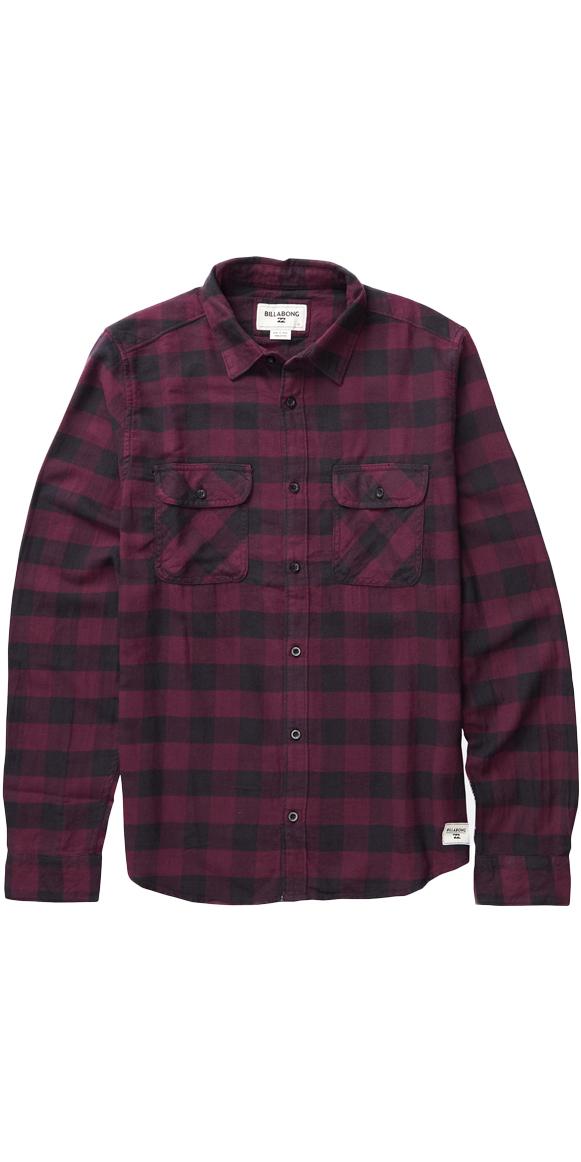 billabong all day flannel shirt port z1sh04 z1sh04