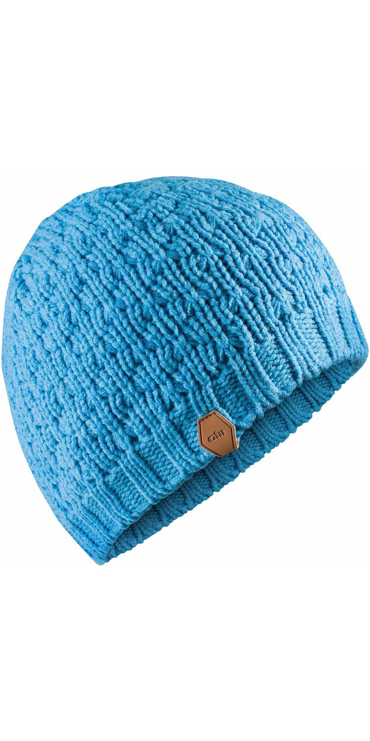 2018 Gill Waffle Knit Beanie BRIGHT BLUE HT38