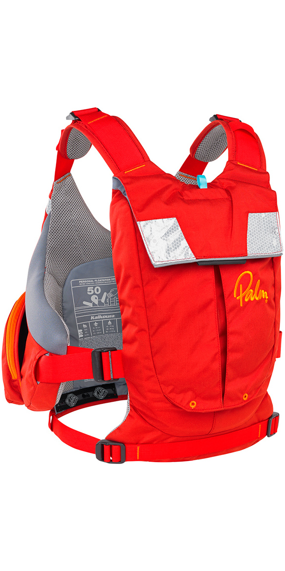 2020 Palm Kaikoura Buoyancy Aid Touring PFD Red 11730