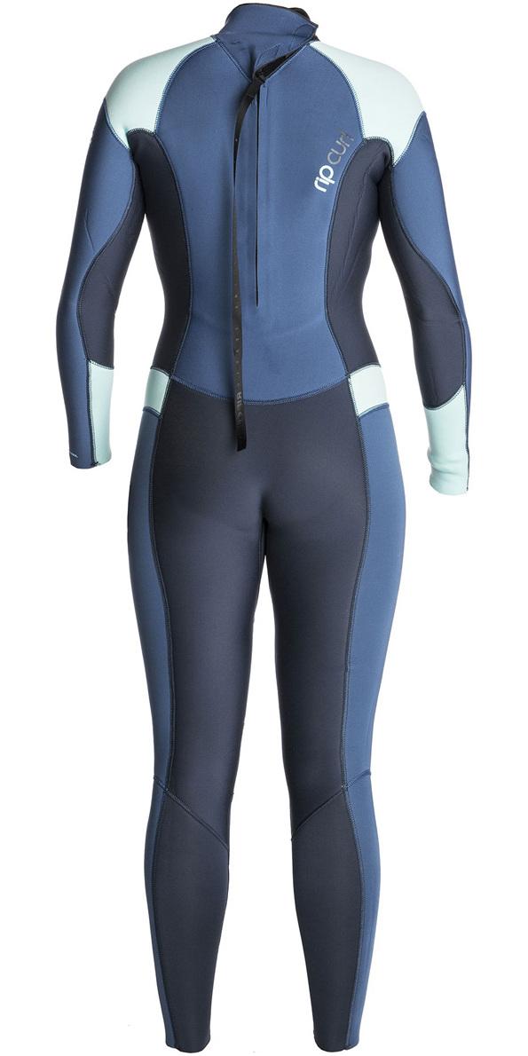 2018 Rip Curl Womens Dawn Patrol 5/3mm Back Zip Wetsuit DARK BLUE WSM7EW