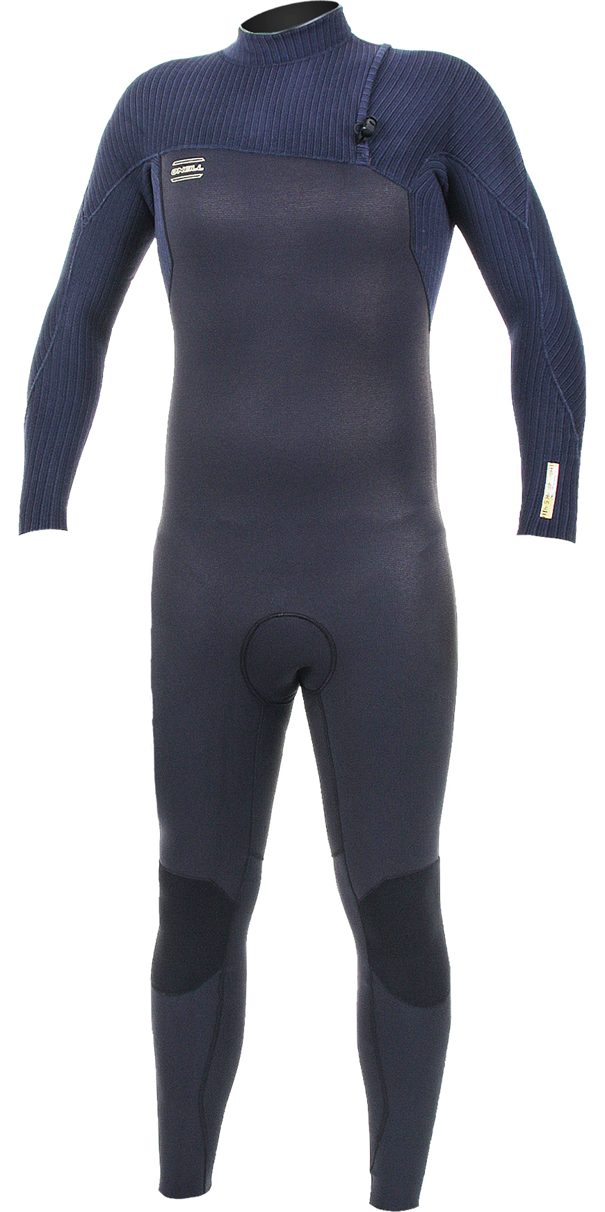 2019 O'Neill HyperFreak Comp 5/4mm Zip Free Wetsuit BLACK / Abyss 5005